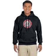 JMS Gildan Heavy Blend Adult Hooded Sweatshirt - Black (JMS-011-BK)