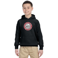 JMS Gildan Heavy Blend Youth Hooded Sweatshirt - Black (JMS-046-BK)