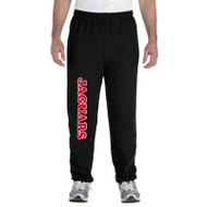 JMS Gildan Adult Heavy Blend Adult 50/50 Sweatpants - Black (JMS-017-BK)