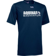 STA Badminton Under Armour Men's Short Sleeve Locker 2.0 Tee - Navy (STA-107-NY)
