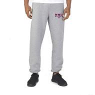 Russell Men's Dri-Power Closed-Bottom Pocket Sweat Pant - Oxford Grey (MMR-012-OX)