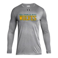 HNM Under Armour Men's Locker Tee 2.0 Long Sleeve - True Grey (HNM-002-TG)