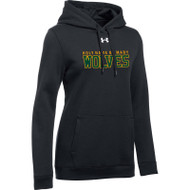 HNM Under Armour Women's Hustle Fleece Hoody - Black (HNM-023-BK)