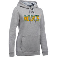 HNM Under Armour Women's Hustle Fleece Hoody - True Grey (HNM-023-TG)