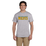 HNM Gildan Adult Ultra Cotton T-Shirt - Sport Grey (HNM-011-SG)