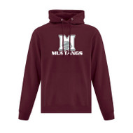 SMO ATC Everyday Fleece Hooded Youth Sweatshirt - Maroon (SMO-048-MA)