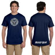 KSS Gildan Adult Ultra Cotton Short Sleeve T-Shirt - Navy (KSS-013-NY)