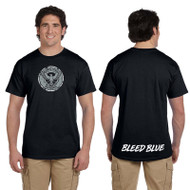 KSS Gildan Men's Ultra Cotton Short Sleeve T-Shirt - Black (KSS-013-BK)