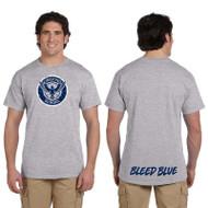 KSS Gildan Men's Ultra Cotton Short Sleeve T-Shirt - Sport Grey ( KSS-013-SG)