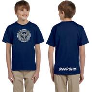 KSS Gildan Youth Ultra Cotton Short Sleeve T-Shirt - Navy (KSS-048-NY)