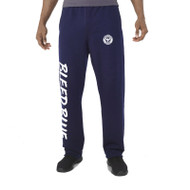 KSS Russell Men's Dri-Power Open-Bottom Pocket Sweatpants - Navy (KSS-014-NY)