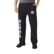 KSS Russell Men's Dri-Power Open-Bottom Pocket Sweatpants - Black ( KSS-014-BK)
