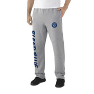KSS Russell Men's Dri-Power Open-Bottom Pocket Sweatpants - Oxford Grey (KSS-014-OX)