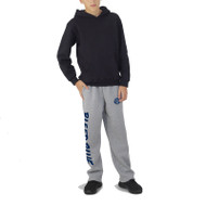 KSS Russell Youth Dri-Power Open-Bottom Pocket Sweatpants - Oxford Grey (KSS-049-OG)