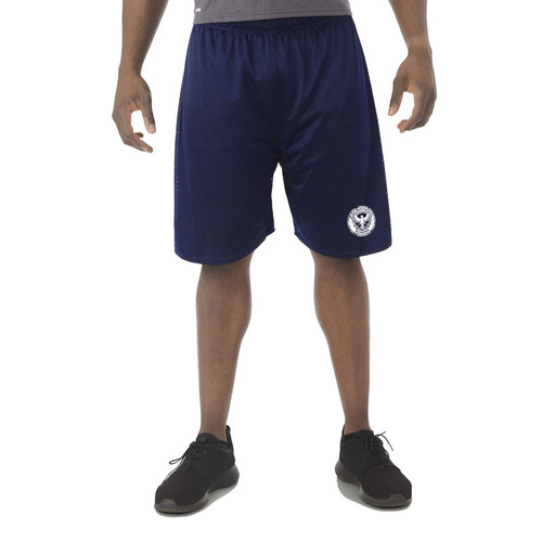 KSS Russell Men's Dri-Power Mesh Shorts - Navy (KSS-015-NY)