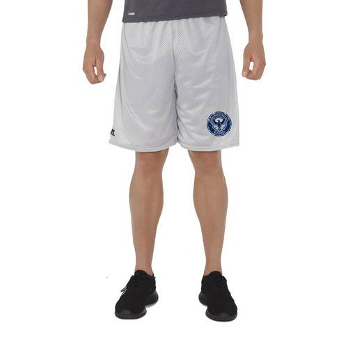 KSS Russell Men's Dri-Power Mesh Shorts - Gridiron Silver (KSS-015-GS)