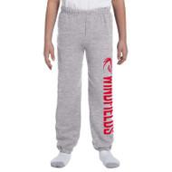 WJH Gildan Youth Heavy Blend 50/50 Sweatpants - Sport Grey (WJH-048-SG)