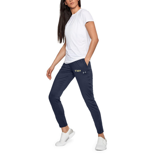 Under Armour Women's Challenger II track pant - Navy (TMS-201-NY)