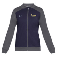 Under Armour Women's Challenger II Track Jacket - Navy (TMS-202-NY)