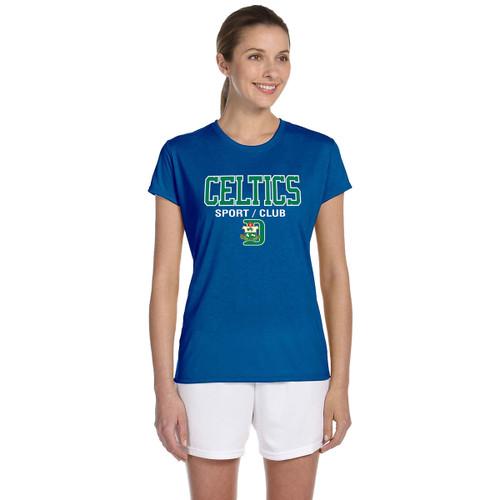 SDC Apparel Women's Short Sleeve T-Shirts - Royal (SDC-134-RO)