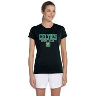 SDC Apparel Women's Short Sleeve T-Shirts - Black (SDC-134-BK)