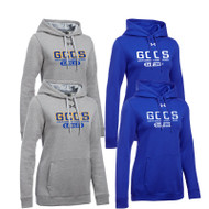 GCC Under Armour Women's Hustle Fleece Hoodie (GCC-201)