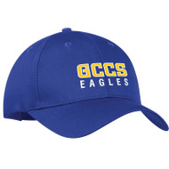 GCC ATC Adult Mid Profile Twill Cap - Royal (GCC-004-RO)
