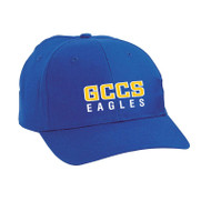 GCC ATC Youth Mid Profile Twill Cap - Royal (GCC-307)