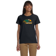 NPS Gildan Ladies' Ultra Cotton T-Shirt - Black (NPS-200-BK)