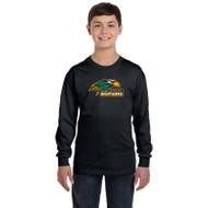 NPS Gildan Youth Heavy Cotton Long-Sleeve T-Shirt - Black (NPS-301-BK)