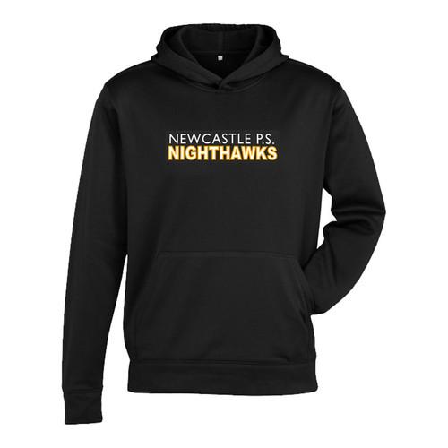 NPS Kids Hype Pull on Hoodie - Black (NPS-302-BK)