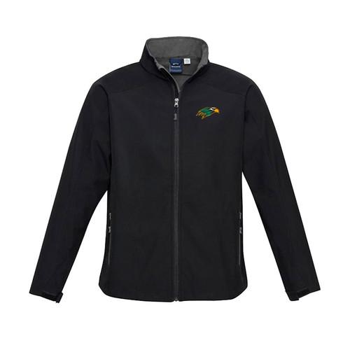 NPS Men's Geneva Jacket - Black/Graphite (NPS-104-BK)