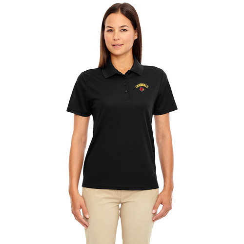 LKC Core 365 Women's Origin Performance Piqué Polo - Black (LKC-202-BK)