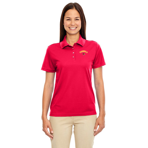LKC Core 365 Women's Origin Performance Piqué Polo - Red ( LKC-202-RE)