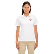LKC Core 365 Women's Origin Performance Piqué Polo - White (LKC-202-WH)