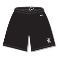 LKC AK Women's Pro Knit Team Shorts - Black (LKC-204-BK)