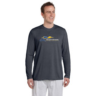 SMK Gildan Men's Performance Long Sleeve T Shirt - Charcoal (SMK-102-CH)