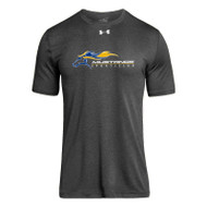 SMK Under Armour Men's Short Sleeve Locker 2.0 Tee - Carbon (SMK-104-CB)
