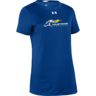 SMK Under Armour Women's Short Sleeve Locker 2.0 Tee - Royal (SMK-204-RO)