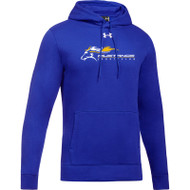 SMK Under Armour Men's Hustle Fleece Hoodie - Royal (SMK-105-RO)