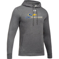 SMK Under Armour Men's Hustle Fleece Hoodie - Carbon (SMK-105-CR)