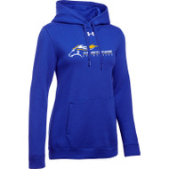 SMK Under Armour Women's Hustle Fleece Hoodie - Royal (SMK-205-RO)