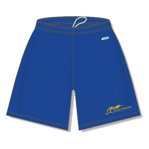 "SMK Athletic Knit Men's Dryflex Shorts 9"" Inseam - Royal (SMK-103-RO)"