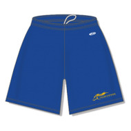 "SMK Athletic Knit Men's Dryflex Shorts 9"" Inseam - Royal (SMK-103-RO)"