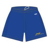"SMK Athletic Knit Women's Dryflex Shorts 5"" Inseam - Royal (SMK-203-RO)"