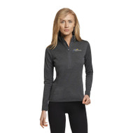 SMK Russell Women's Performance ¼ Zip - Stealth (SMK-208-ST)