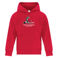 HCP ATC Youth Everyday Fleece Hooded Sweatshirt - Red ( HCP-301-RE)