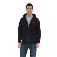 BEA ATC Men's Everyday Fleece Full Zip Hooded Sweatshirt - Black (BEA-102-BK)