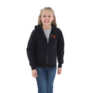 BEA ATC Youth Everyday Fleece Full Zip Hooded Sweatshirt - Black (BEA-302-BK)