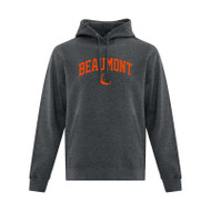 BEA ATC Men's Everyday Fleece Hooded Sweatshirt - Dark Heather Grey